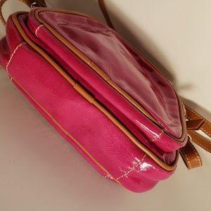 Valentina Bags - Valentina Hot Pink Patent Leather Crossbody bag